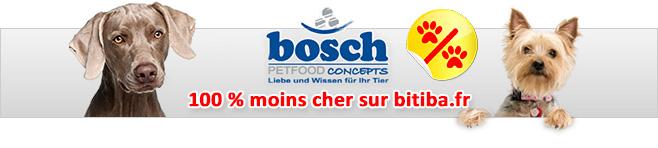 Croquettes Bosch pour chien