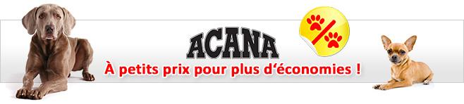 Croquettes Acana pour chien