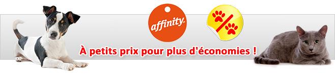 Croquettes Affinity pour chien et chat