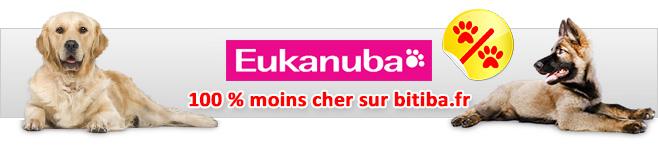 Croquettes Eukanuba pour chien