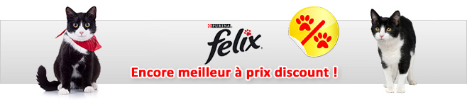 Pâtée Felix pour chat