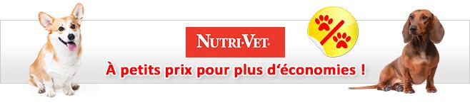 Croquettes Nutrivet pour chien