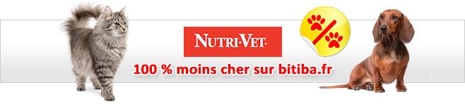 Croquettes Nutrivet pour chien et chat