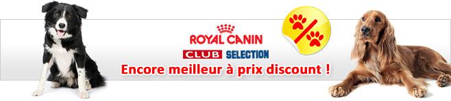 Croquettes Royal Canin Special Club et Selection pour chien