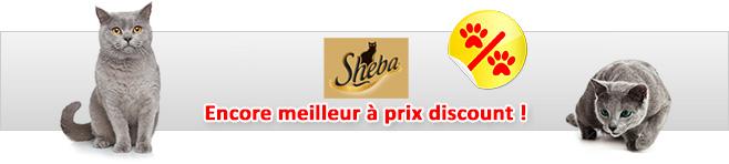 Pâtée Sheba pour chat