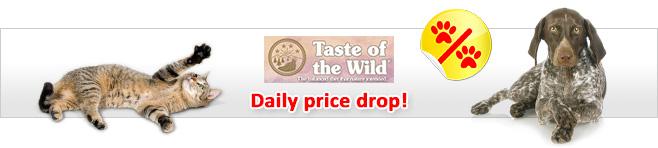 Taste of the Wild Dog & Cat Food