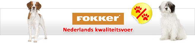 Fokker droogvoer voor honden