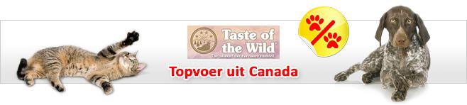 Taste of the Wild voor hond en kat