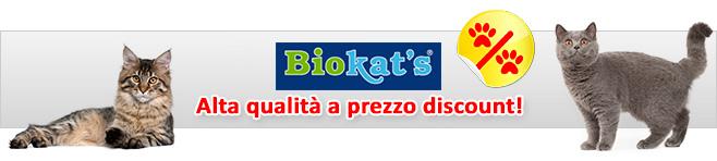Sabbia per gatti Biokat's
