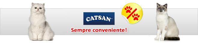 Sabbia per gatti Catsan