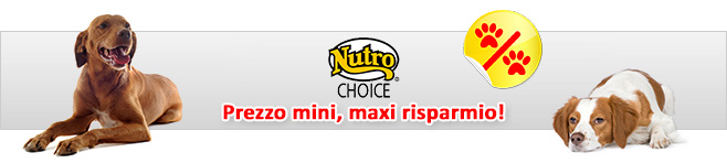 Cibo secco per cani Nutro Natural Choice