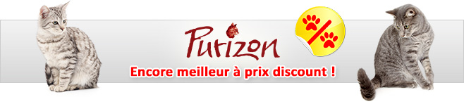Croquettes Purizon pour chat