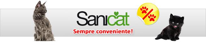 Sabbia per gatti Sanicat Professional