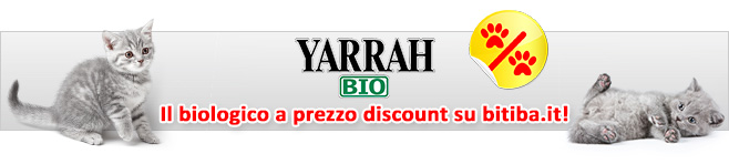 Cibo umido biologico per gatti Yarrah Bio