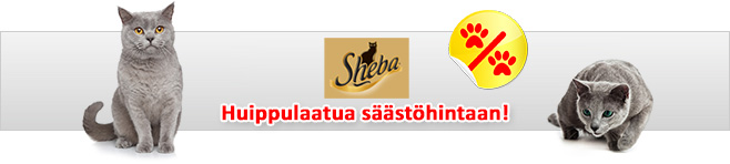Sheba kissan märkäruoat