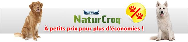 croquettes naturcroq pour chien animalerie 100 discount. Black Bedroom Furniture Sets. Home Design Ideas