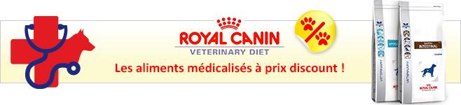 Croquettes médicalisées Royal Canin Veterinary Diet pour chien