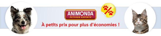 Croquettes et Pâtée Animonda pour chien et chat