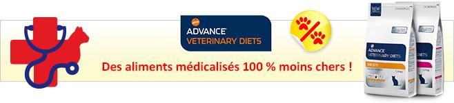 Croquettes médicalisées Affinity Advance Veterinary Diets pour chat