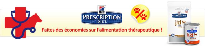 Croquettes et pâtée médicalisées Hill's Prescription Diet pour chien