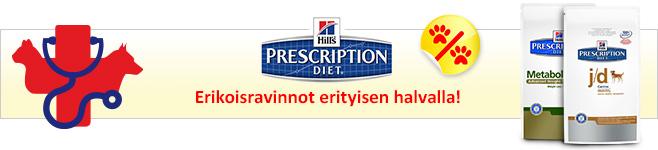 Hill's Prescription Diet kissoille ja koirille