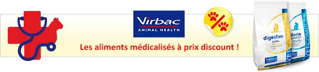 Croquettes médicalisées Virbac Vetcomplex pour chat