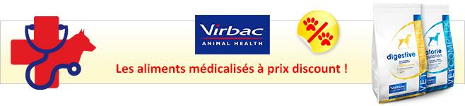 Croquettes médicalisées Virbac Vetcomplex pour chien