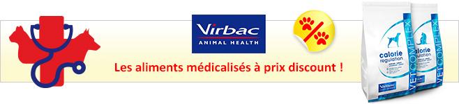 Aliments médicalisés Virbac Vetcomplex pour chien et chat