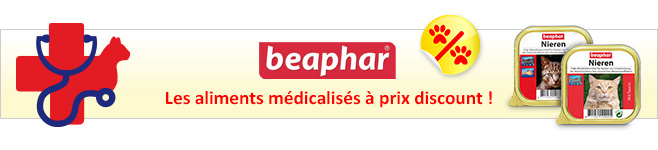 Pâtée médicalisée Beaphar pour chat