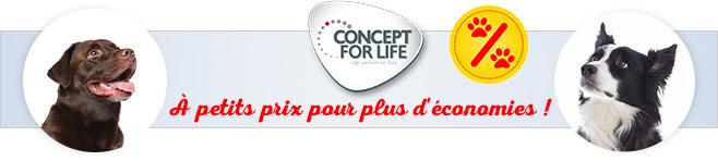 Croquettes Concept for Life pour chien