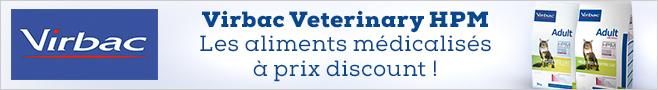 Croquettes médicalisées Virbac Veterinary HPM pour chien
