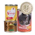 Pâtée sans céréales pour chat