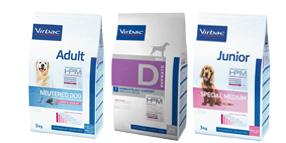 Croquettes Virbac Veterinary HPM pour chien