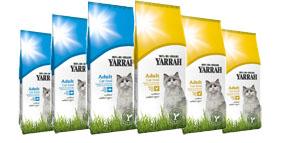 Croquettes Yarrah Bio pour chat