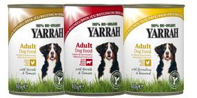 Pâtée Yarrah Bio pour chien