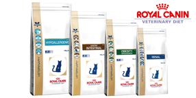 Aliments médicalisés Royal Canin Veterinary Diet pour chat