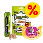 Snacks top deals voor kat