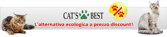Sabbietta per gatti Cat's Best