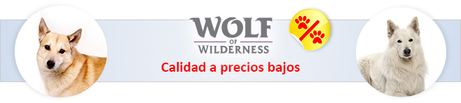 Wolf of Wilderness pienso para perros