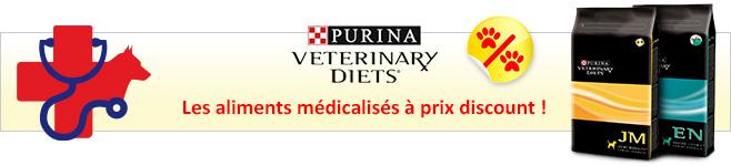 Croquettes médicalisées Purina Veterinary Diets pour chien