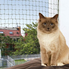 Filet de protection pour balcon pour chat