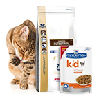Comida veterinaria para gatos