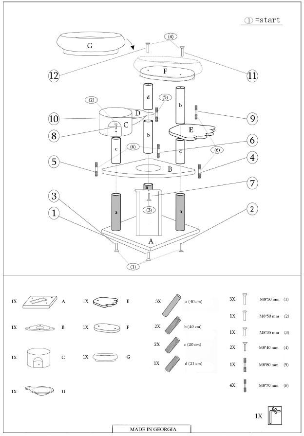 arbre chat tani re d 39 ours prix discount sur. Black Bedroom Furniture Sets. Home Design Ideas